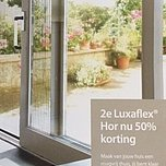2e luxaflex hor nu 50% korting